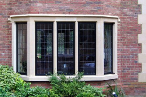 Traditional Mullion Window surround
