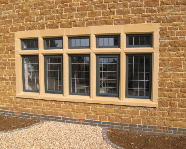 Mullion Window with Jambs