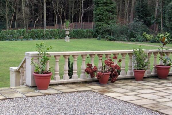 Garden Balustrading
