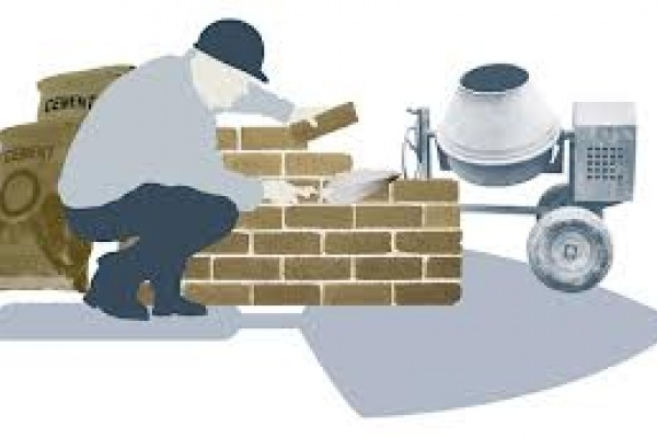 Selfbuilder bricklayer