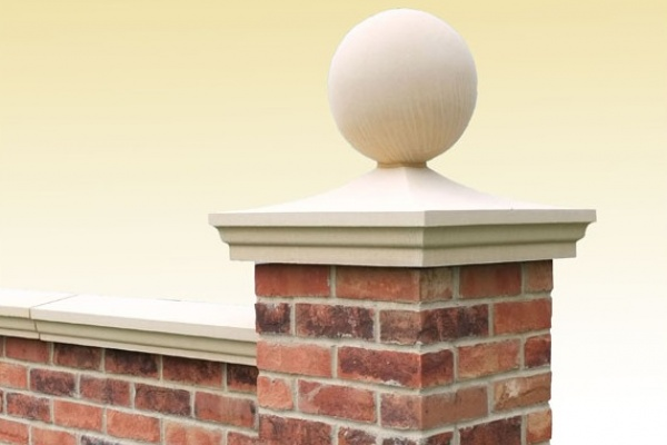 Moulded Pier Cap with Ball