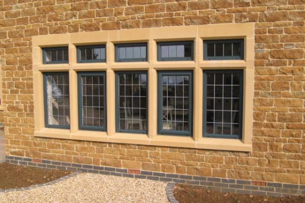 Mullion Window with Jambs